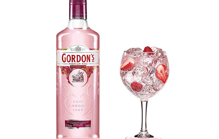 Gordon's pink: ginebra con un toque de color