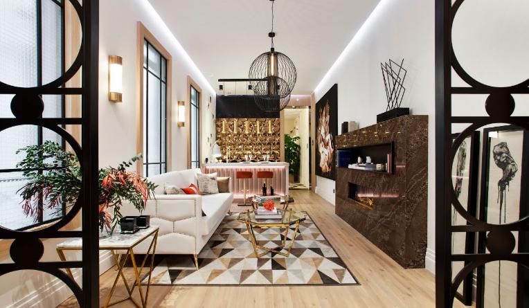 Casa Decor, lujo y tecnología en un espacio reducido