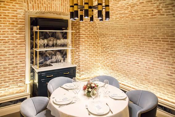 Elegancia sofisticada en la nueva brasserie francesa Antoniette en Madrid
