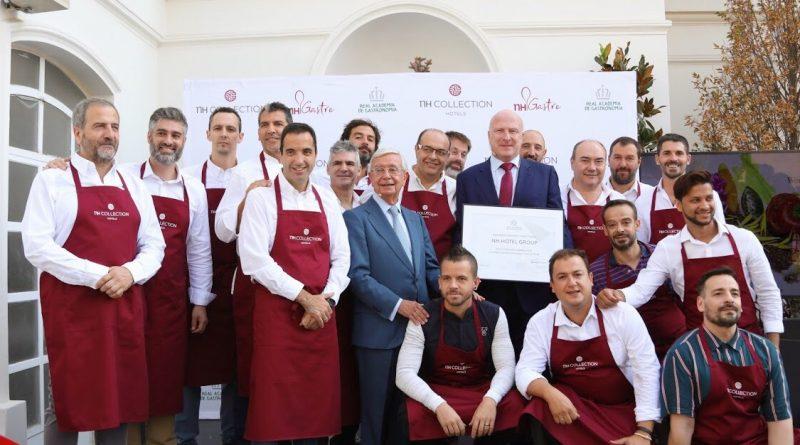 NH Hotel Group reconocido por la Real Academia de Gastronomía por su labor en favor de la mejor restauración hotelera