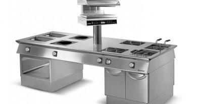Eurofred integra la gama de cocinas horizontales de Giorik