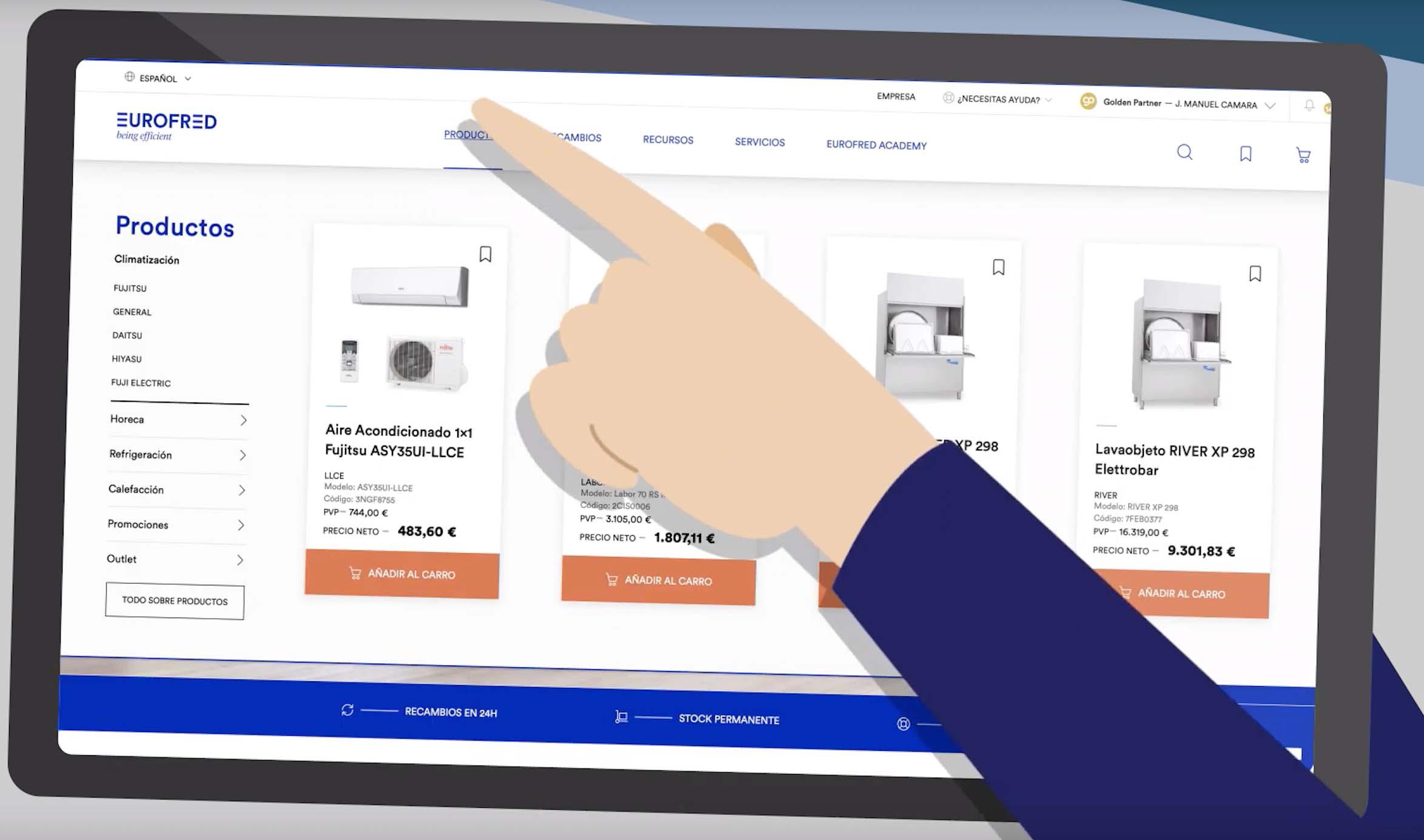 Eurofred Lanza Un Portal Digital Pionero Para Los