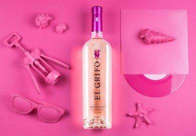 El Grifo, rosado de lágrima, fresco y elegante