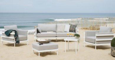 Habitat presenta su línea más elegante y pura  para exterior