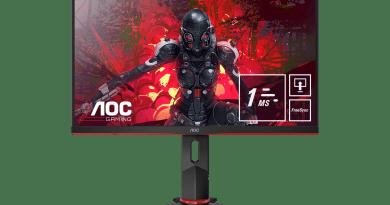 Nueva serie G2 de AOC: Monitores de juego con paneles IPS, hasta 144 Hz de velocidad de actualización y 1 ms MPRT