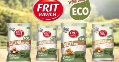 Frit Ravich presenta sus frutos secos ecológicos en envase compostable
