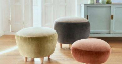 Gancedo y Helena Rohner presentan una nueva colección de pufs joya