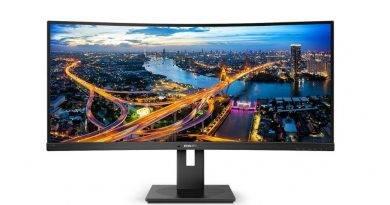 MMD lanza el monitor Philips 346B1C con puerto USB-C
