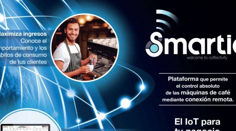 Smartia, el IoT para el negocio de café