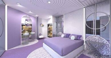 Los revestimientos murales 3D de Orac Decor®  vestirán dos habitaciones de hotel en InteriHotel 2019