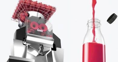 Primera exprimidora de granadas de alto rendimiento de Zumex