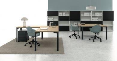 DV812-Enna, mobiliario de oficina entre diseño y funcionalidad