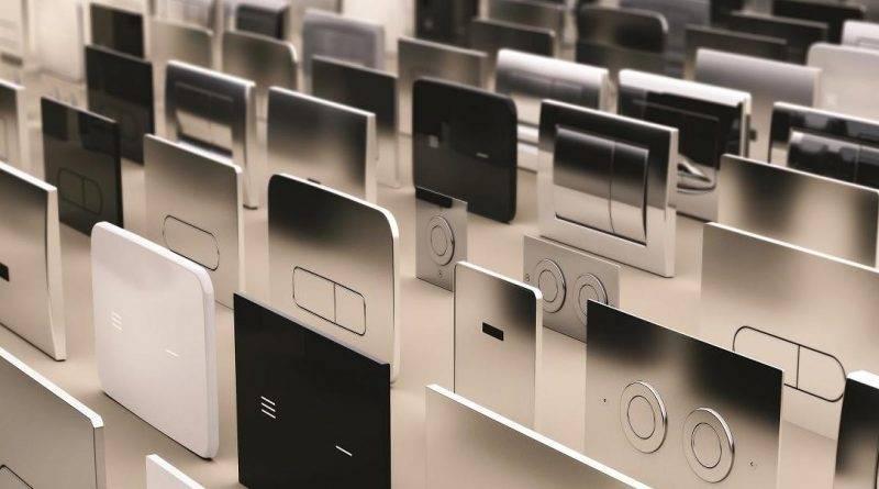 Nueva gama de placas pulsadoras con tecnología 'non touch' de Ideal Standard