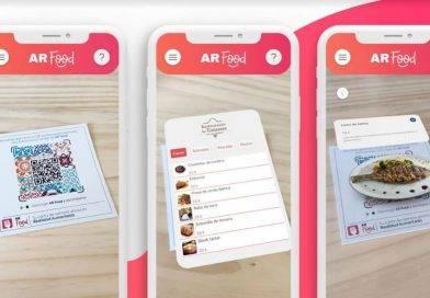 AR Food: poder ver el plato en 3D antes de pedirlo, llega la Carta en Realidad Aumentada