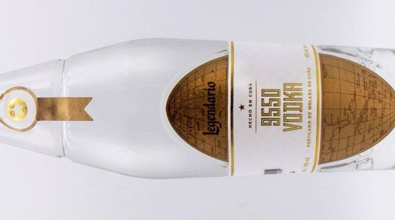 9550, vodka con sabor a Cuba