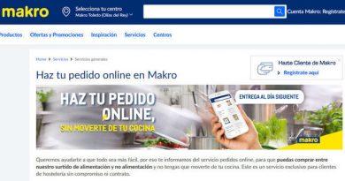 Makro amplía la venta inline a todos sus clientes hosteleros