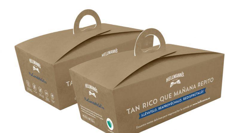 Hellmann's y Too Good To Go impulsan el uso de las 'doggy bags' para evitar el desperdicio en restaurantes
