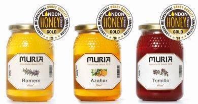 Tres  de las variedades de Miel Muria entre las mejores mieles del mundo