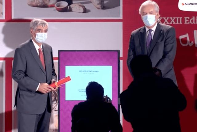 El MAPA hace entrega de los premios Alimentos de España al Mejor Vino 2020