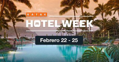 KAYAK lanza Hotel Week, su evento de ofertas en hoteles del año