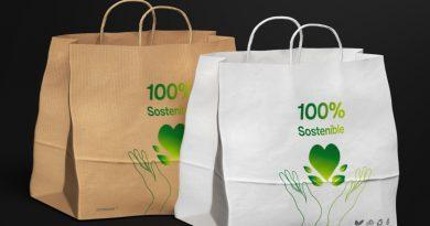 Eccopaper trae a España la compra colectiva de bolsas de papel sostenibles para abaratar costes