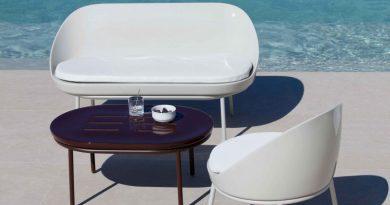 Möwee presenta Lace,  su colección de mobiliario de exterior