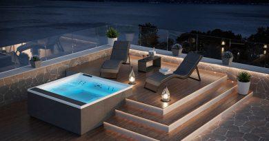 Novellini presenta su nueva gama de complementos 'Outdoor Spa'