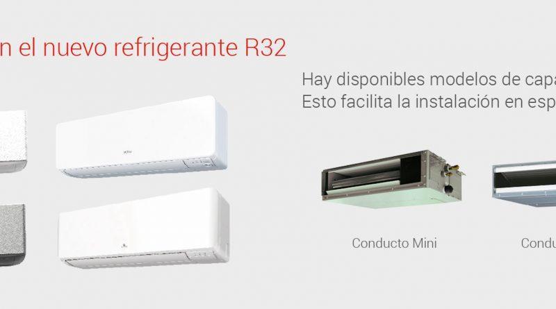 Eurofred presenta la gama de Multi-Splits con gas R32 de Fujitsu, más flexible y ecológica